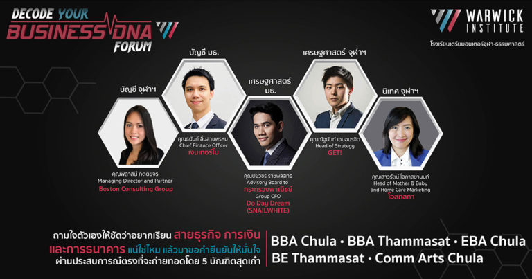 🌟Decode your BUSINESS DNA forum ครั้งที่ 2